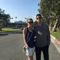 Tim and Jen at the Rose Bowl